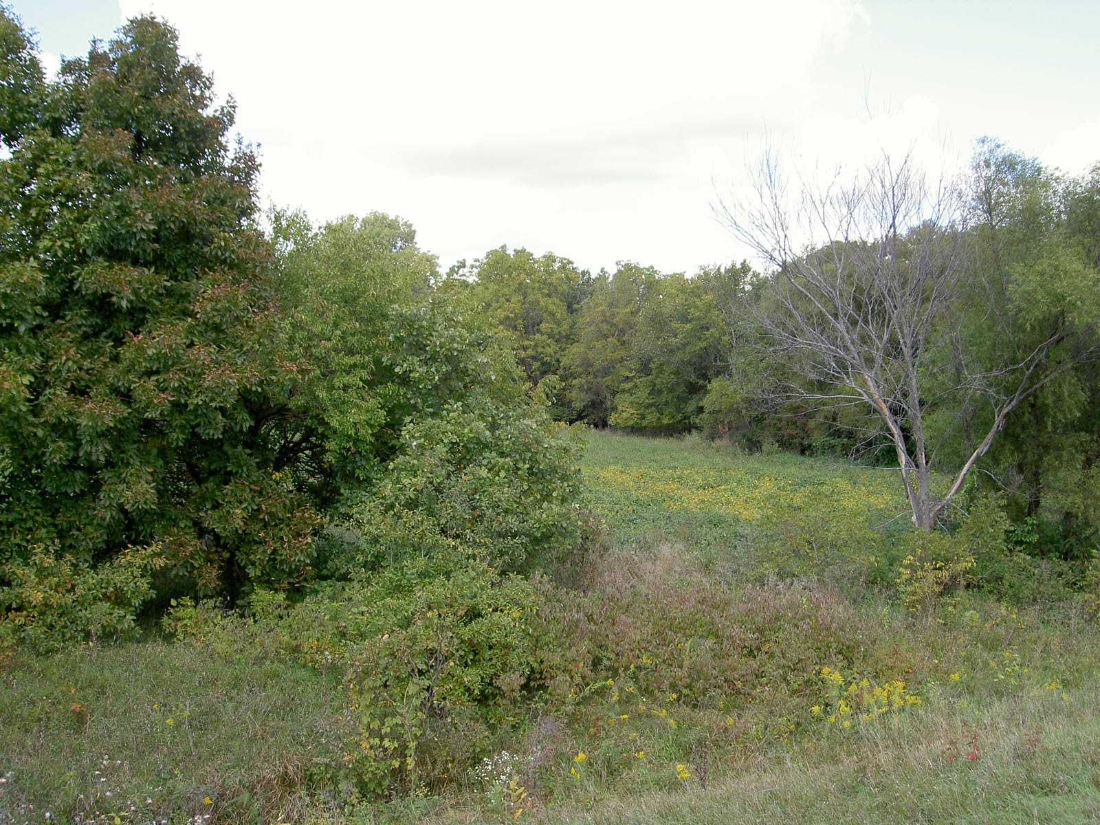 Six miles north of St. Joseph, Missouri