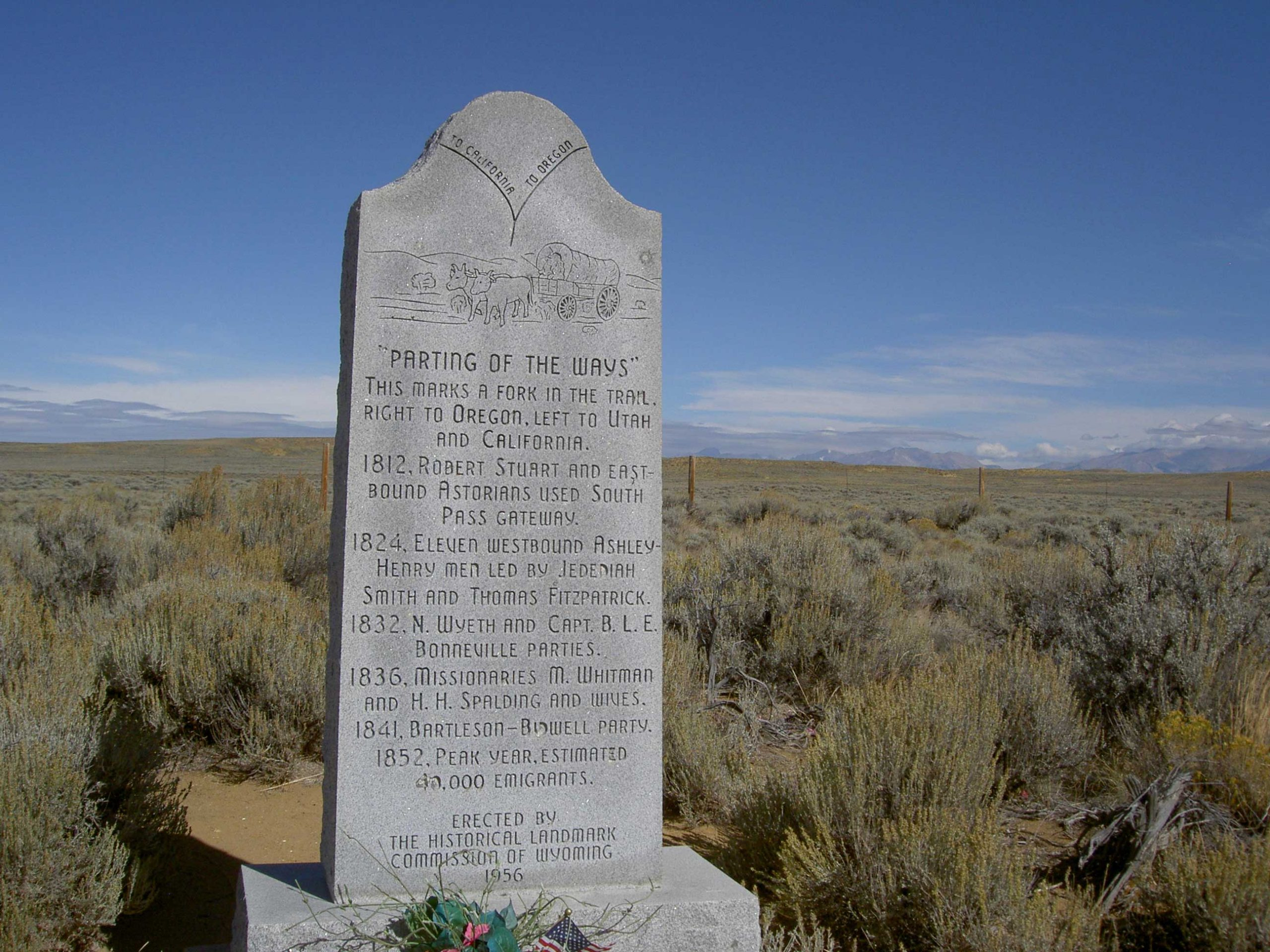 Sublette's Cutoff in Wyoming