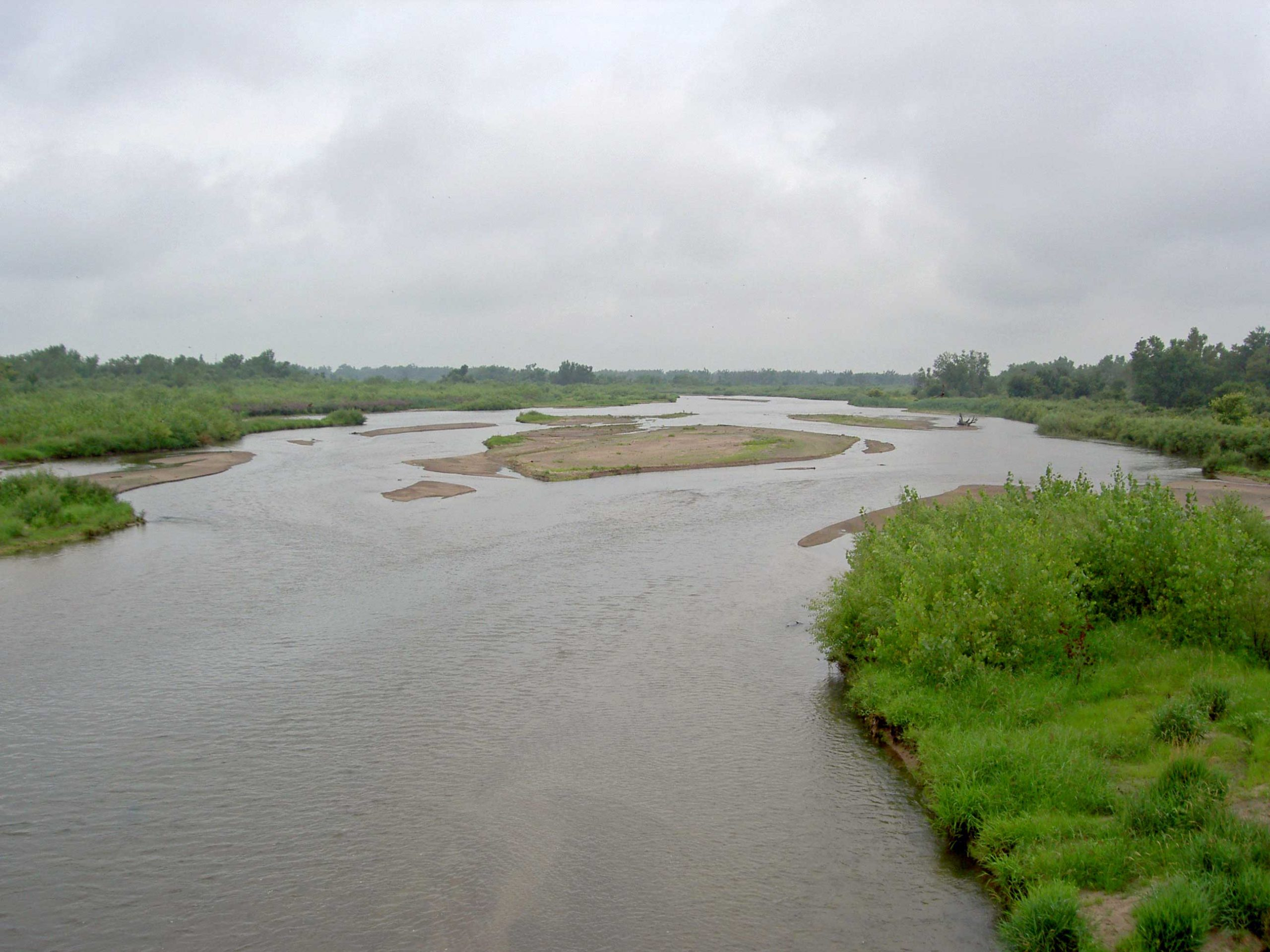 Platte River looking west