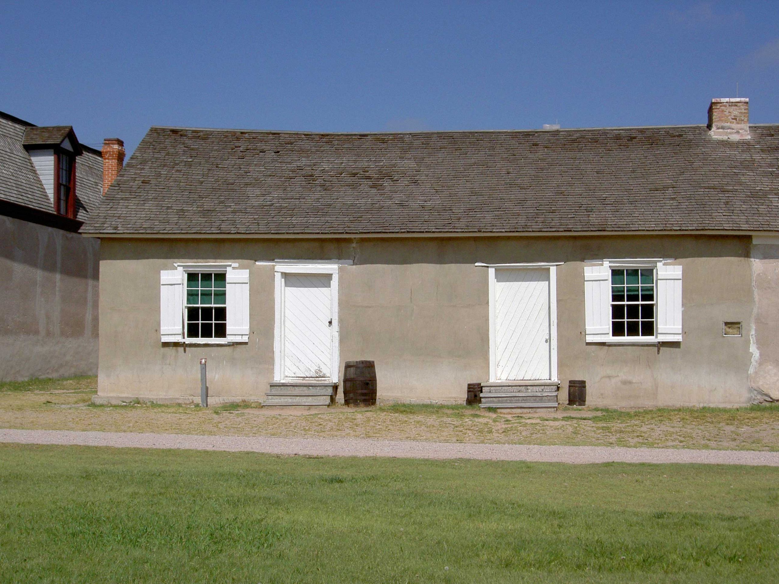 The Sutler's Store, Ft. Laramie in Wyoming