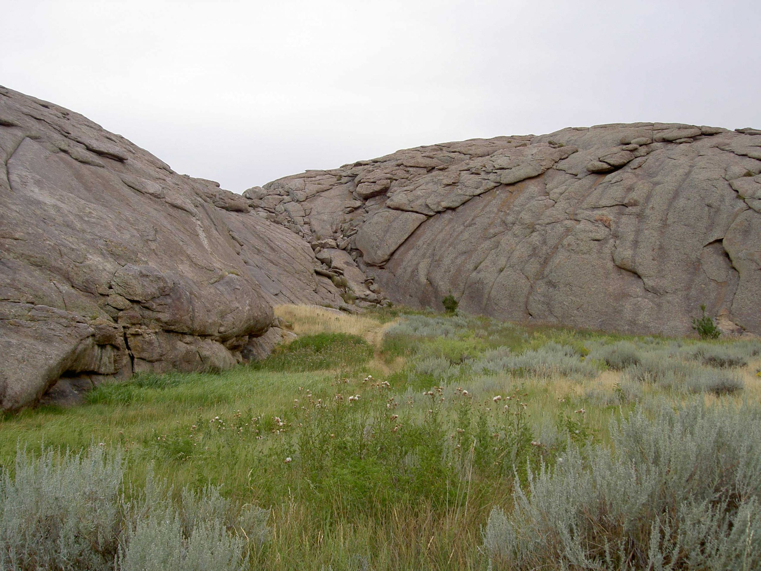 Independence Rock in Wyoming