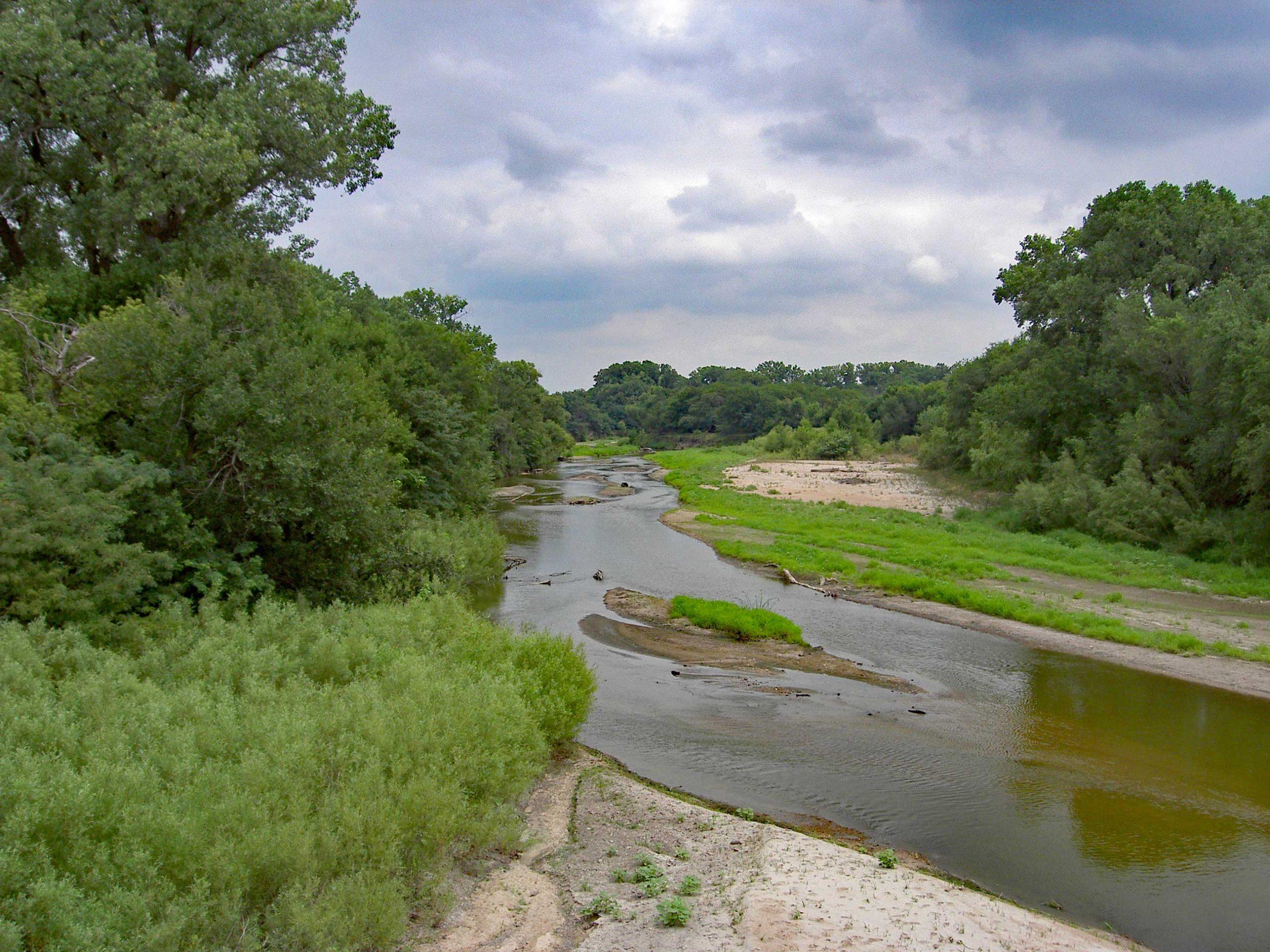 Little Blue River at Hebron, Nebraska