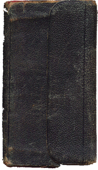 1870 Diary Cover