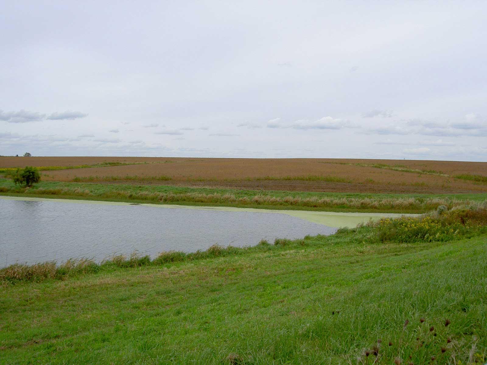 Two miles before Pulaski, Iowa