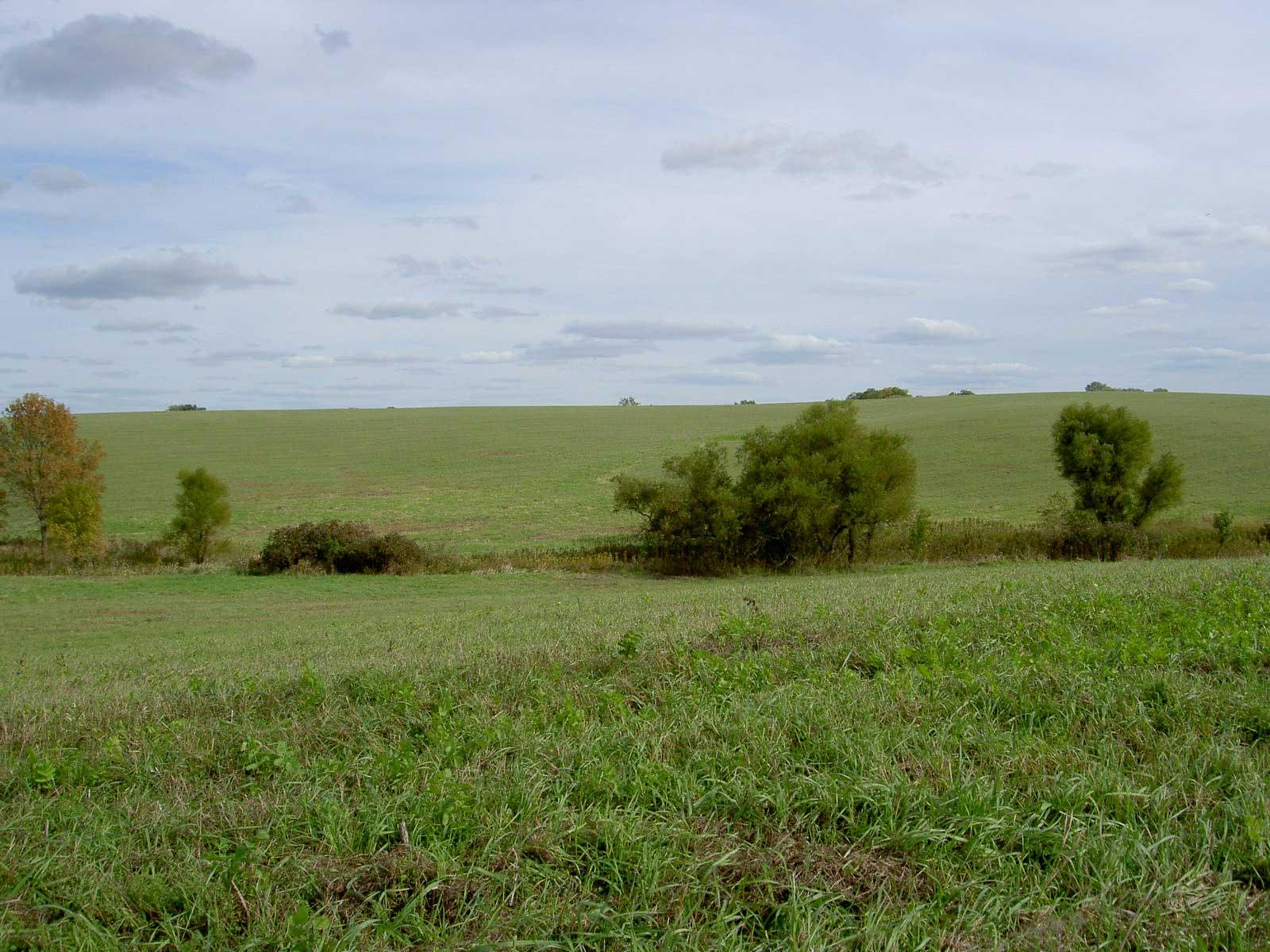 Between Corydon and Highpoint, Iowa