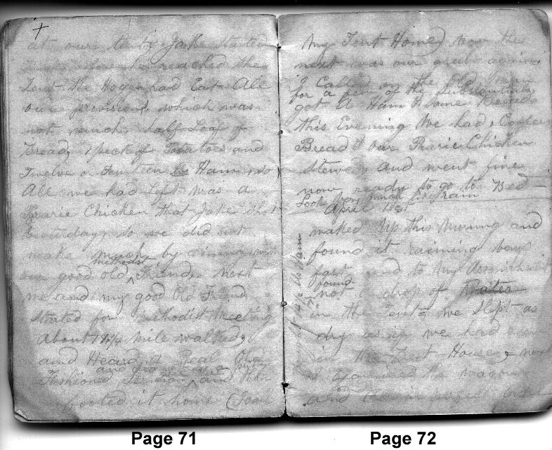March 31-April 1, 1850