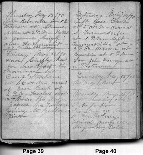 May 12, 1870 - May 16, 1870