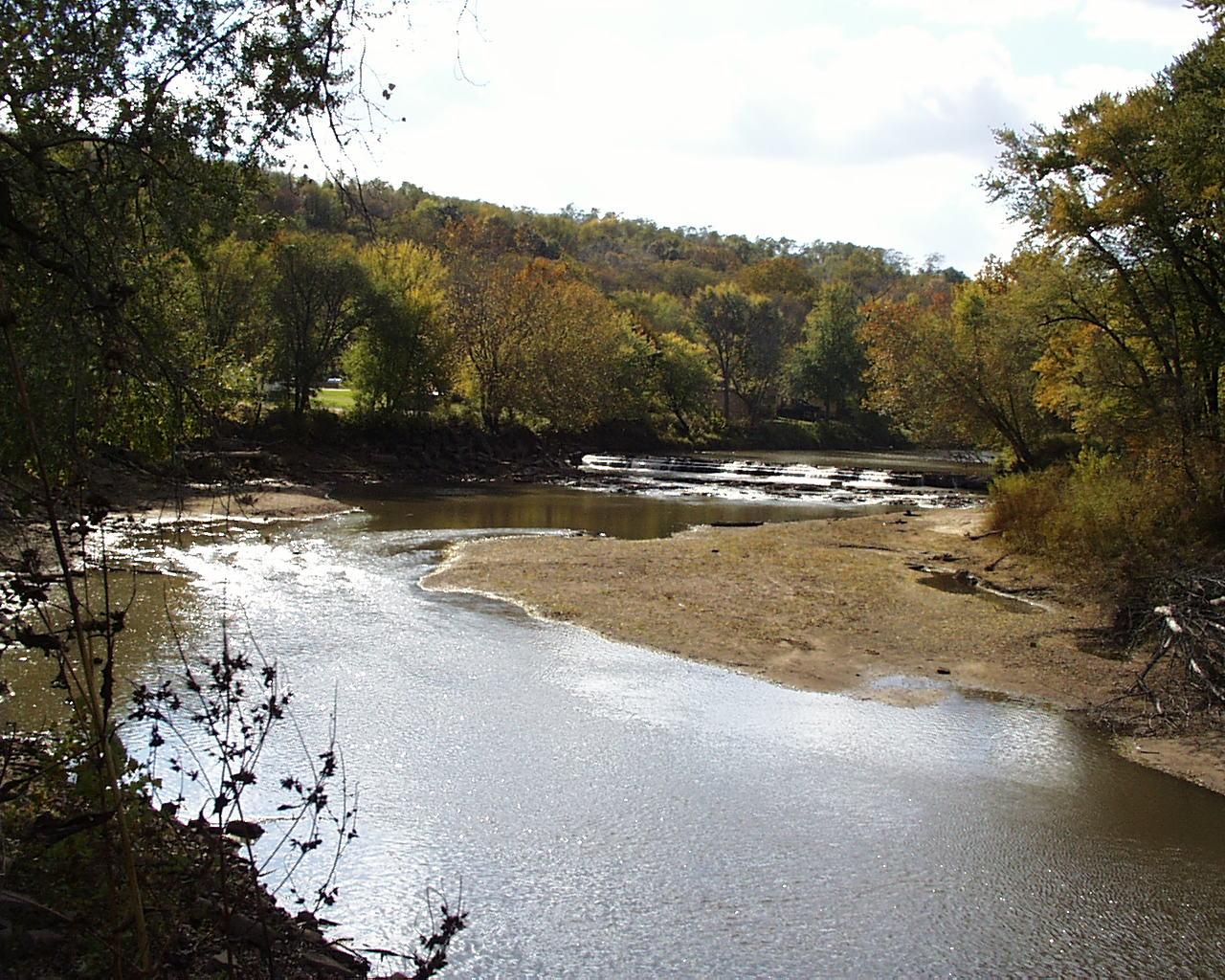 Spoon River west Burnedott