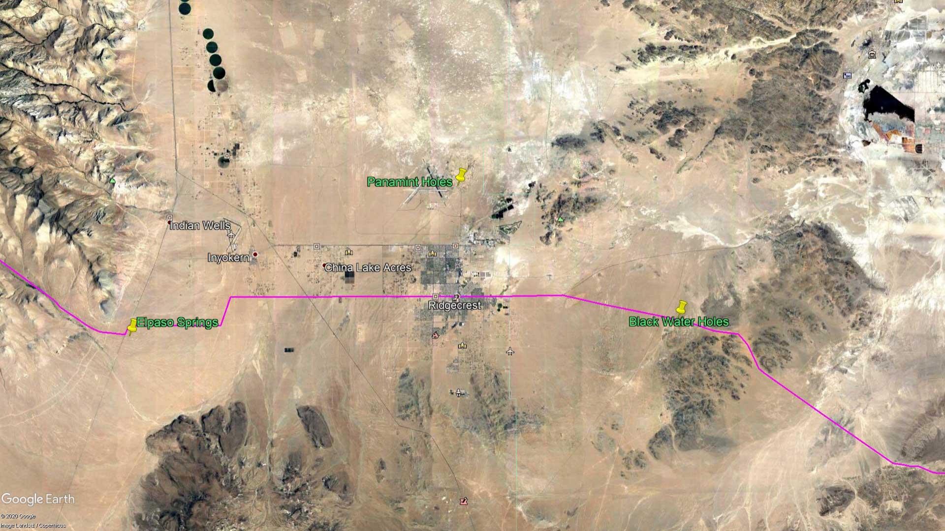 April 3, 1870 - The Mojave Desert