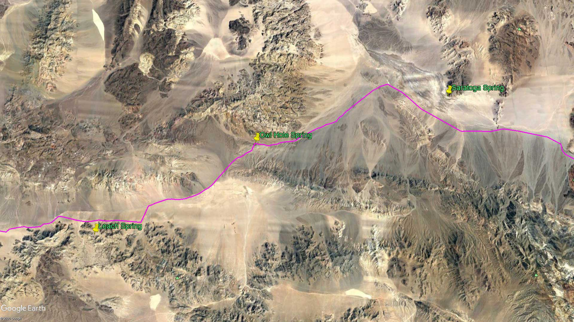 April 6, 1870 - The Mojave Desert
