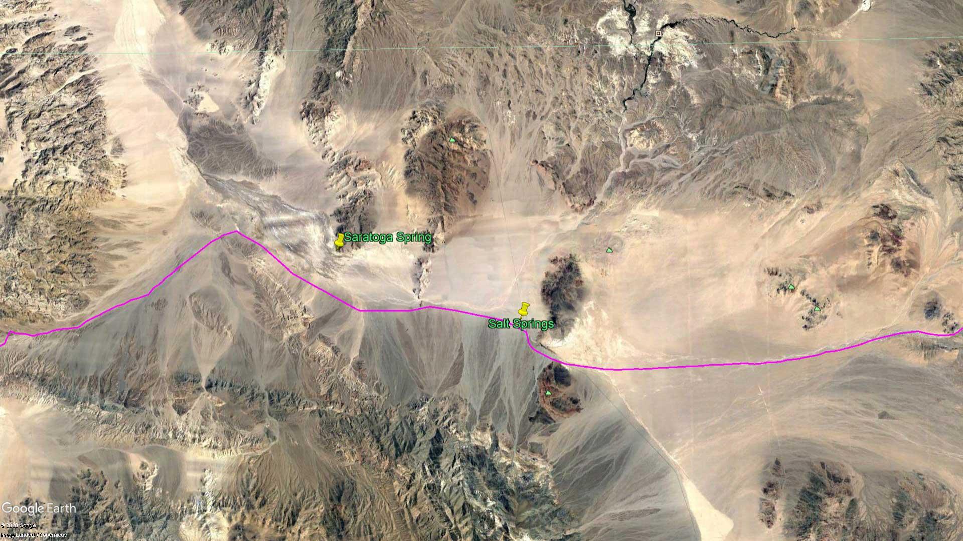 April 7, 1870 - The Mojave Desert