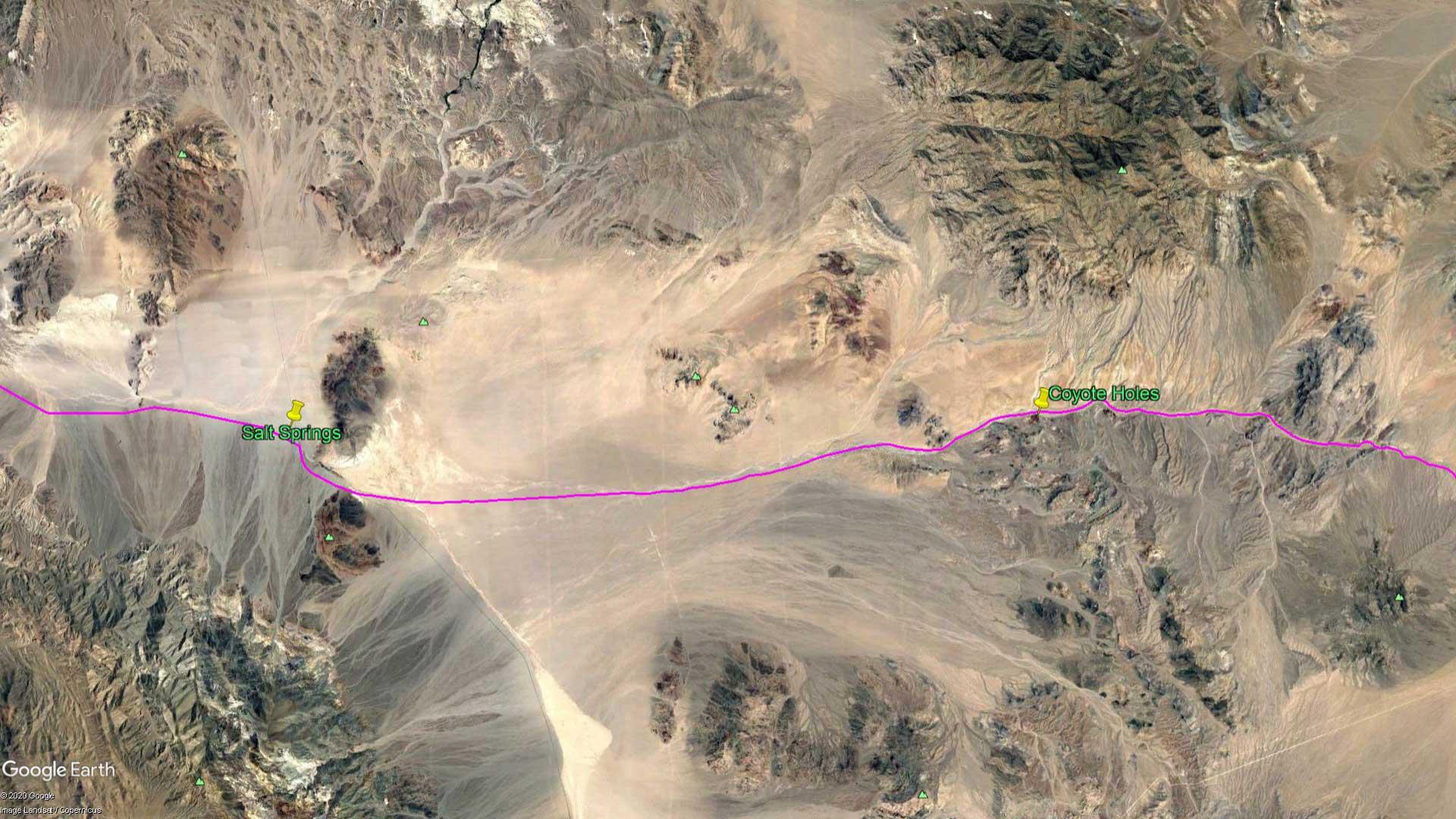 April 8, 1870 - The Mojave Desert
