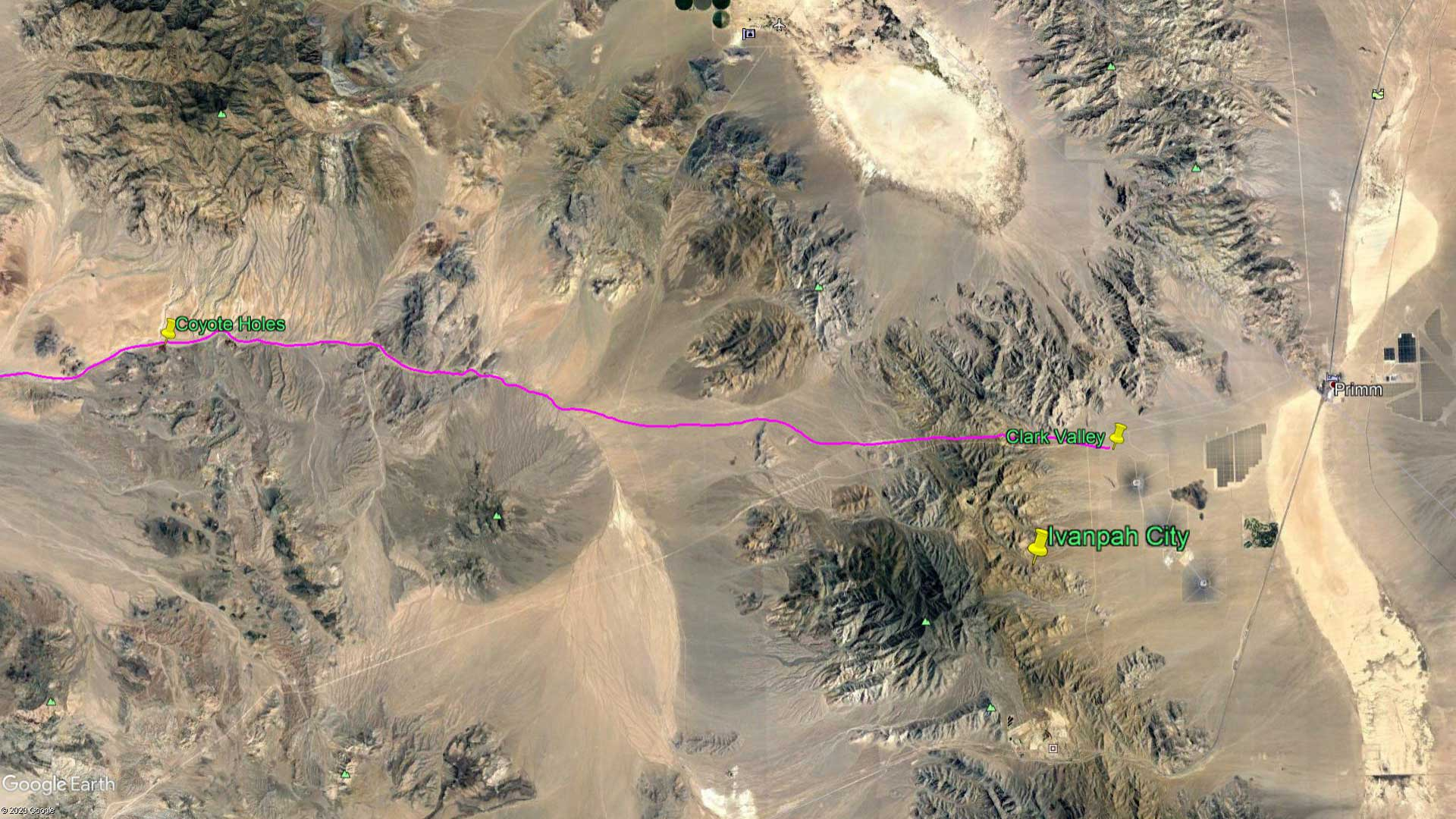 April 9, 1870 - The Mojave Desert