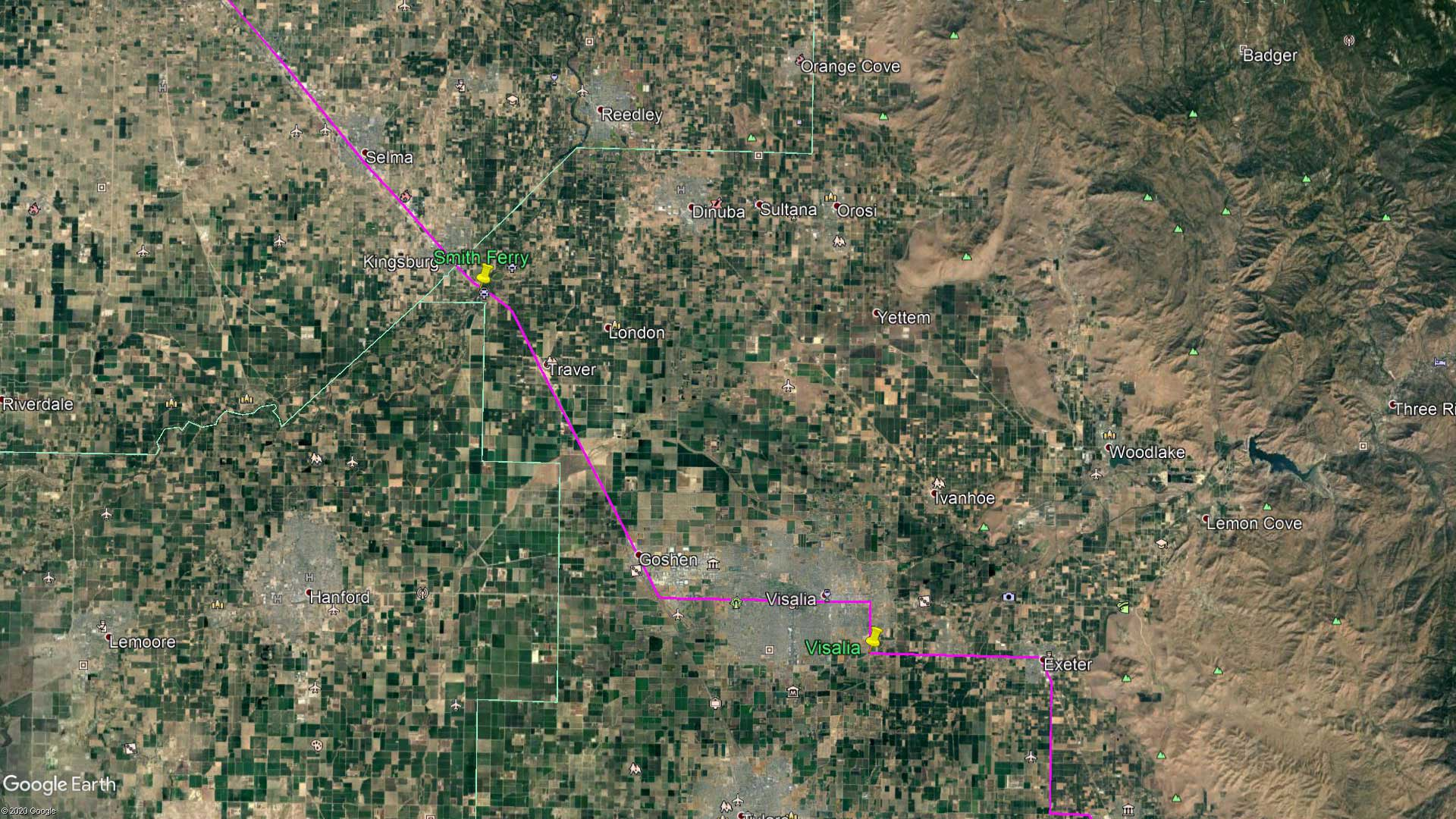 May 16, 1870 - The San Joaquin Valley