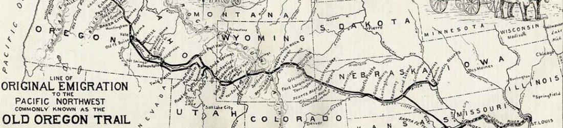 Oregon Trail 1907 header banner
